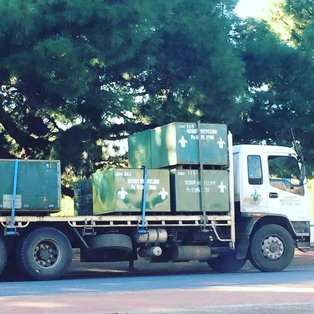 Spotted in North Adelaide #scoutslife #scoutrecycling #scoutrecyclingcentre #recycle4life #adelaide