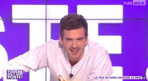 """La télé de Marc-Antoine le Bret : 30 imitations en 5 minutes ! Pendant sa chronique dans l'émission """"Touche Pas A Mon Poste"""" (TPMP) sur D8, Marc-Antoine le Bret"""