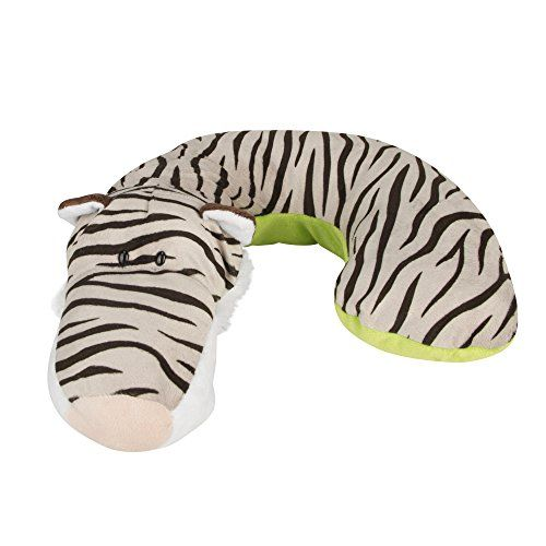 Animal Planet Kids Neck Support Pillow White Tiger Toddler Car Seat Pillow Baby Head Support Child Travel ** Visit the image link more details.