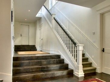 17+ images about Railing, Spindles and Newel Posts for Stairs on Pinterest | Entry stairs, Warm ...