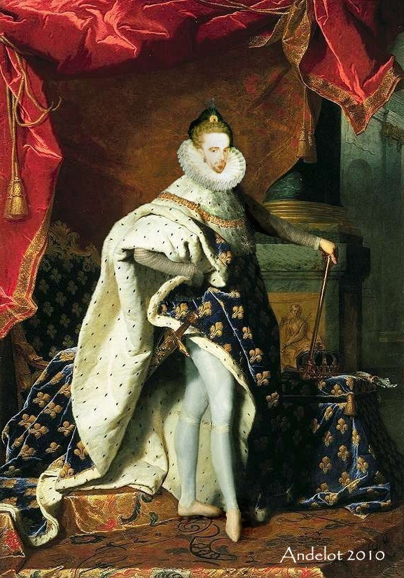 Henri III en costume de sacre