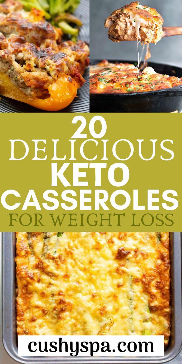 20 köstliche Keto-Aufläufe zum Abnehmen
