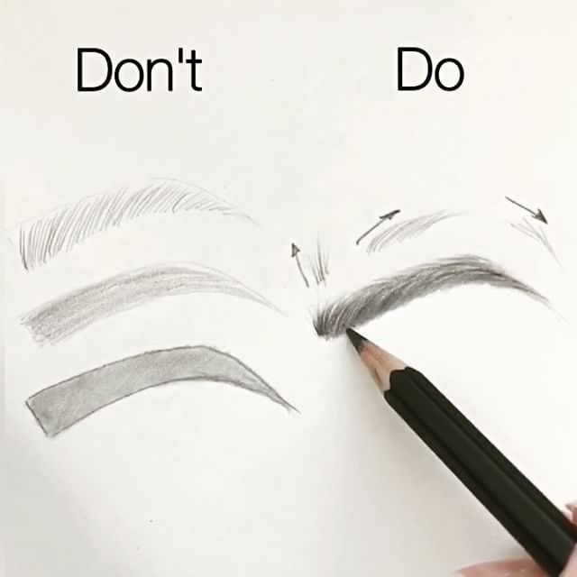 Do's and Don'ts on eyebrows...(I'll do what I like, every a artist is different!)