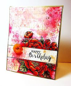 Stamping with Julie Gearinger: Happy Birthday Blooms for Bert :-)