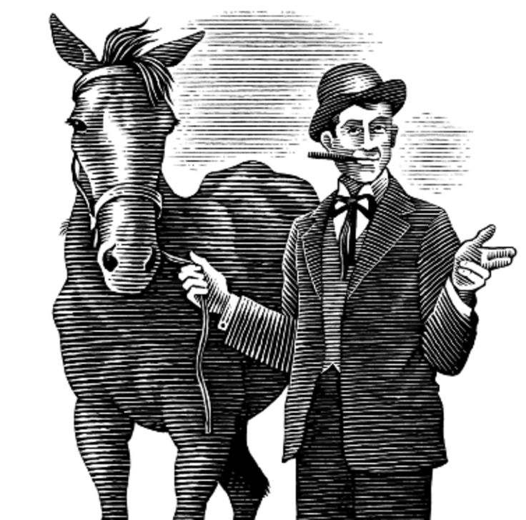 Lost Skills of the Old West Horse Trader. A savvy horse trader could make even the slickest car salesman look like an angel.