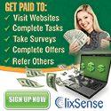 Novo pagamento recebido pelo clixsense. Recebi para o Paypal $21.78 dolares. Site PTC honesto para ganhar dinheiro.