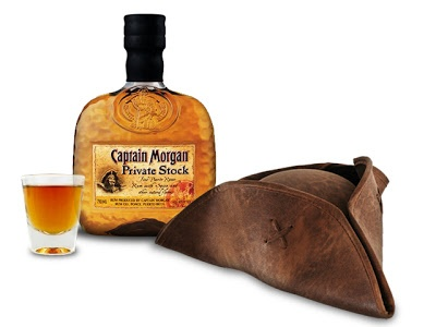 Pirate Gift Set with Captain Morgan Private Stock Rum #MentionSomeoneHandsome @captainmorganmx