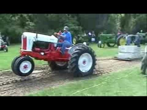 Night before the wedding : Antique Tractor Pull