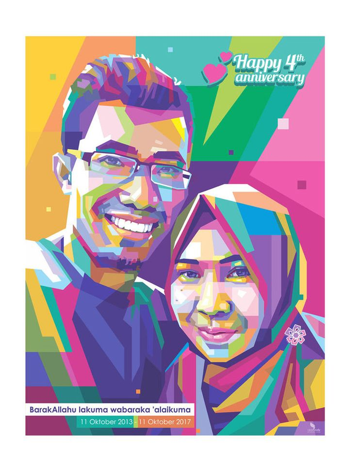 WPAP Couple by opparudy   #wpap #popart #illustration #vector #digitalart #oppqrudy