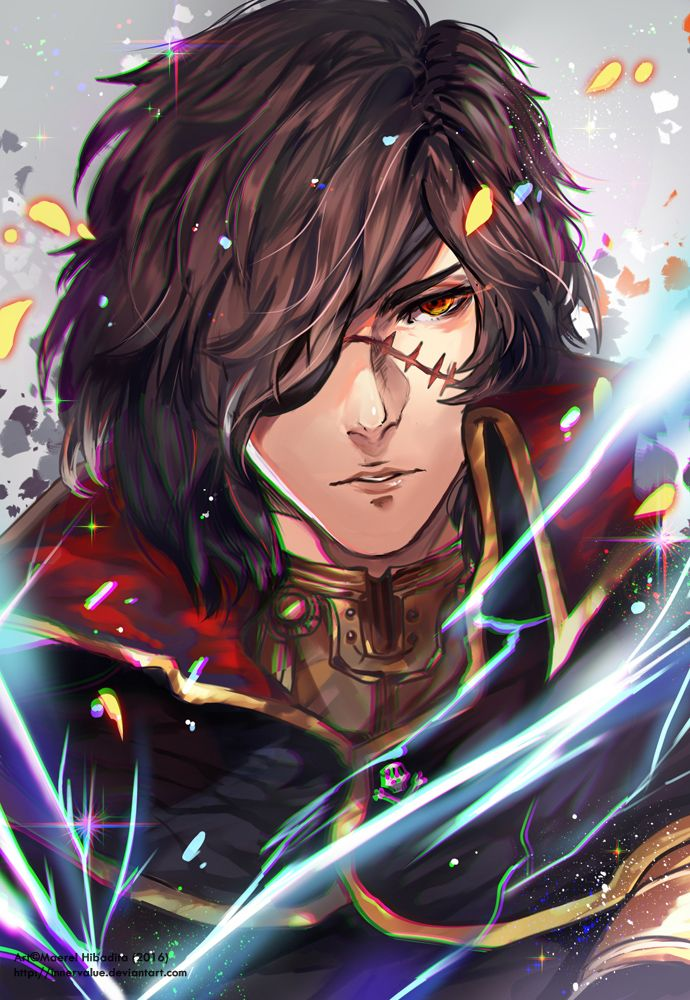 Commission: Captain Harlock by Innervalue on DeviantArt - http://innervalue.deviantart.com/