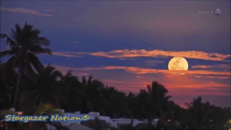 Lunar Phenomenon - Honey Moon of Friday 13th