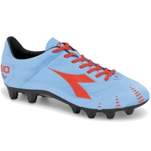 SALE - Diadora Evoluzione K Pro GX 14 Soccer Cleats Mens Blue Leather - Was $159.99 - SAVE $20.00. BUY Now - ONLY $139.99