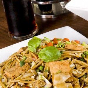 Острые жареные овощи с тофу и лапшой соба рецепт – японская кухня, вегетарианская еда: основные блюда. «Афиша-Еда»