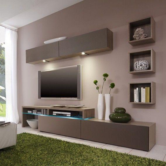 Wall unit ColourArt (6 pieces) – Oak Decor buy online | Home24