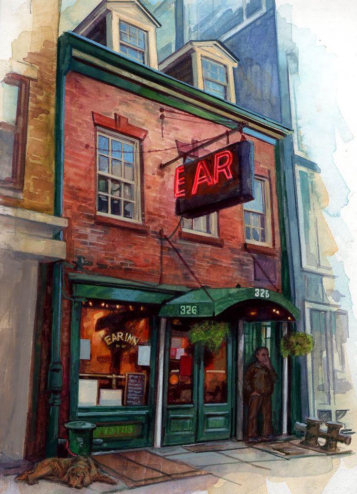 Ear Inn Exterior | Stephen Gardner