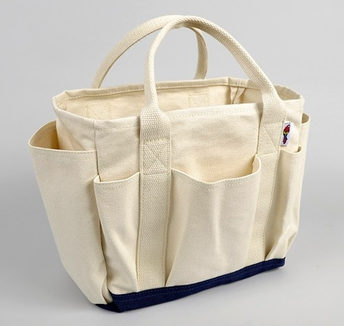 Parrot Canvas Utility Tote
