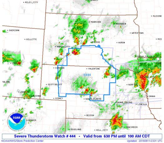 SPC Severe Thunderstorm Watch 444 Status Reports - http://blog.clairepeetz.com/spc-severe-thunderstorm-watch-444-status-reports/