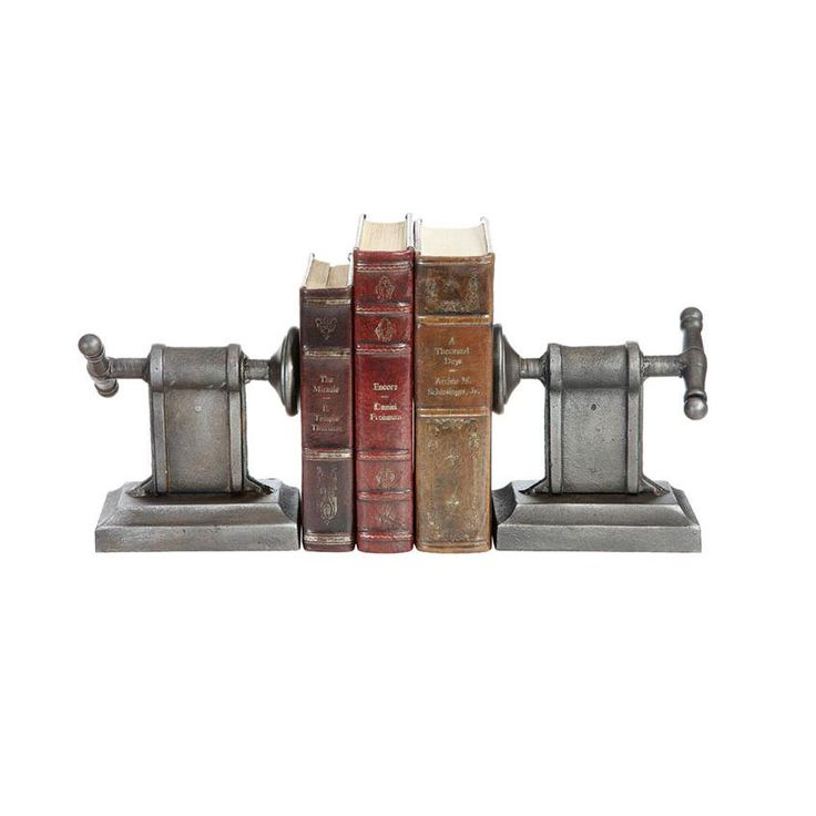 Pair of Cast Bookends  industrial design 94 best I m sure my books and are in for a fascinating afternoon
