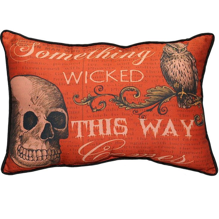 SOMETHING WICKED PILLOW