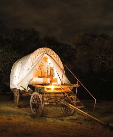 Witmoskloof Oxwagon Camp on Witmoskloof Farm, Eastern Cape.
