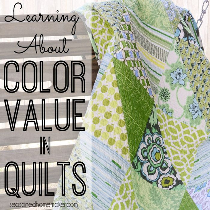 Creating great quilts starts with understanding Color Value. This can be challenging for beginners, but it's easier than you think.