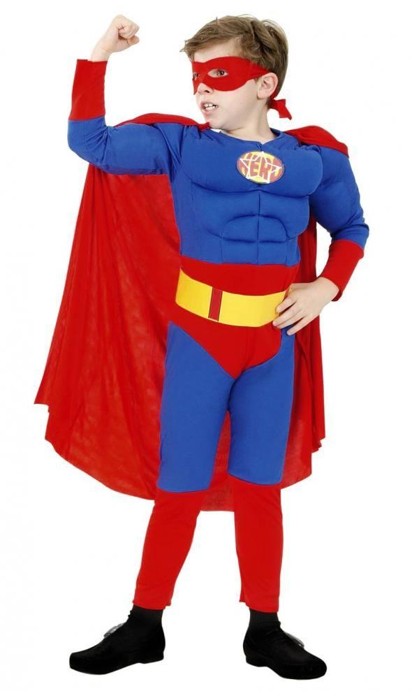 Karnevalový kostým Super Hrdina, M - Casallia