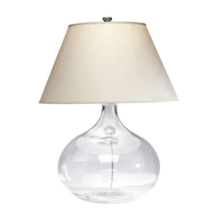 Clear Glass Table Lamp   Ethan Allen US Dimension  8 25  dia  x 31. 46 best lamps images on Pinterest