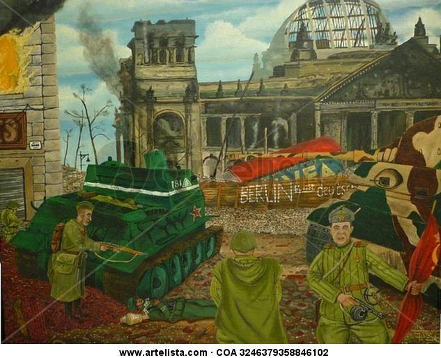 Asalto al Reichtag 1945