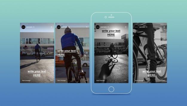 Instagram Story Mockup In 2021 Social Media Mockup Instagram Business Instagram Story Template
