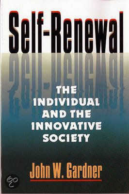 'Self-Renewal - the Individual & the Innovative Society' by John Gardner (as referenced by John Maeda on various occasions).
