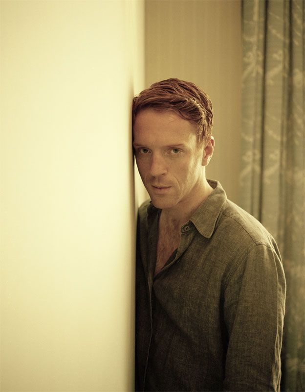 Damian Lewis...<3 Him!  Just something about this redhead that sends my hormones into overdrive!