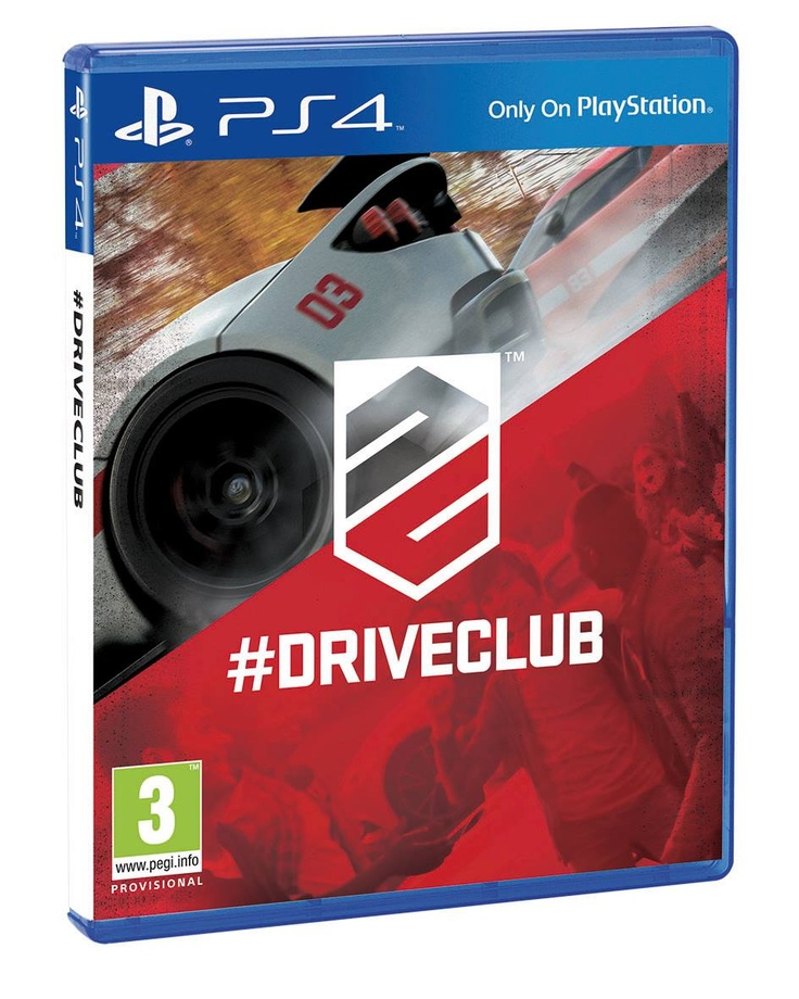 Drive Club for PS4 cover art