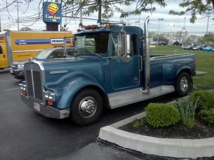 kenworth pickup conversion kit - 720×540
