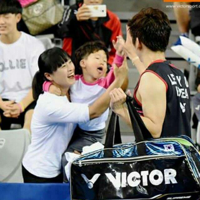 Lee yong dae final victor korea open 2015