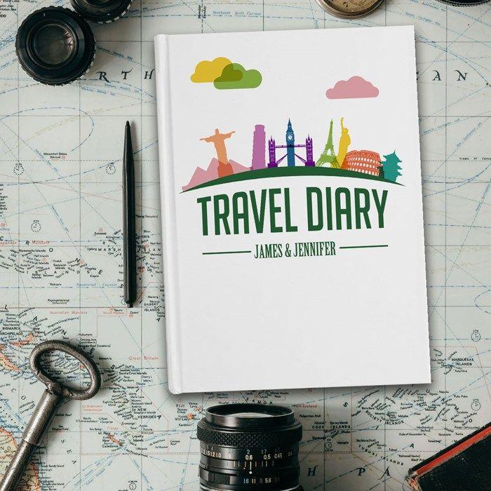 Personalised Diary - Landmarks | GettingPersonal.co.uk