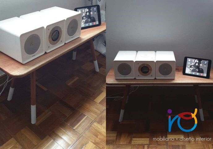 AUX: Auxiliary table, handmade in Colombia