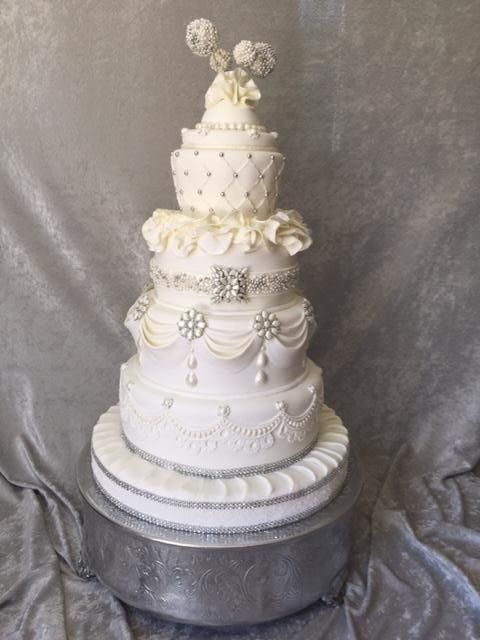 73 best wedding cake decorations images on pinterest cake wedding just looking at a beautiful wedding cake is enough to take your breath away now imagine creating this masterpiece yourself learn how to make your own solutioingenieria Choice Image