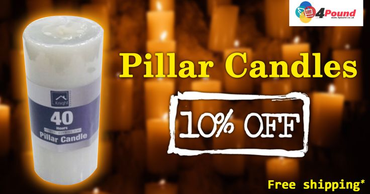 Shop Pillar Candles for just £1.57 for 10% OFF. Order order today to avail Free shipping. Apply coupon code as 4pound20  http://www.4pound.co.uk/pillar-candles-whiteShop Pillar Candles for just £1.57 for 10% OFF. Order order today to avail Free shipping. Apply coupon code as 4pound20  http://www.4pound.co.uk/pillar-candles-white