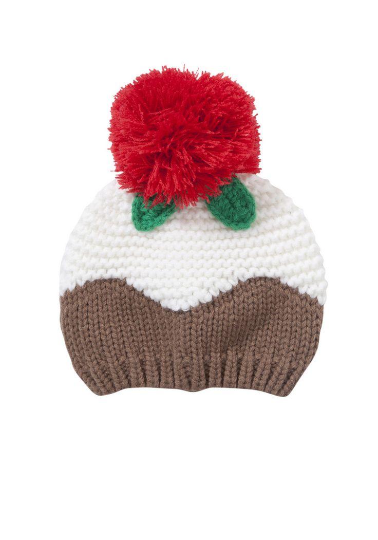 Christmas Pudding Hat Pattern Free Men Knitting