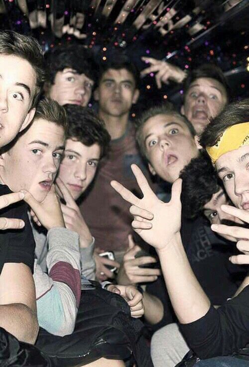 Original Magcon ...I miss the old days
