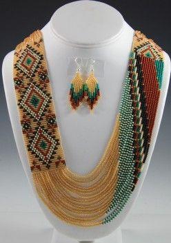 Navajo Beaded Necklace-Rena Charles