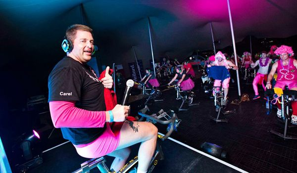 """Carel Nolte and the Ultimate Human Race """"Raising money for The Pink Drive is my way to recognise my friends who have died from cancer; contribute, give back, inspire and show that anybody can. To whom much is given, much is expected""""  #FUCancer #breastcancer #running #comrades #inspired"""