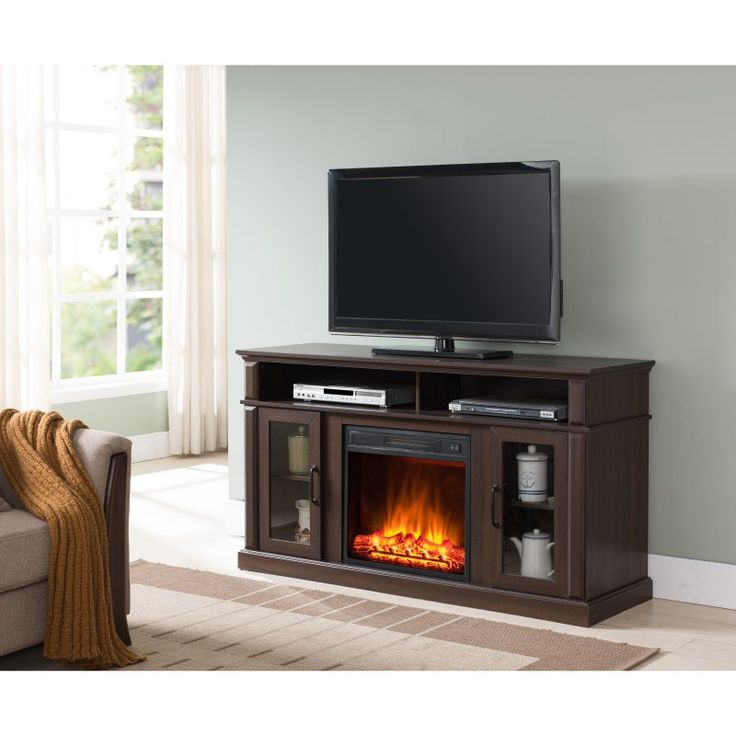 Simmons Rough Hewn Electric Media Fireplace - 7578-42