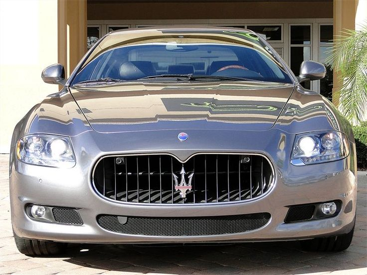 Maserati Quattroporte S #Maserati #Quattroporte - my favorite car view … love the front of this car