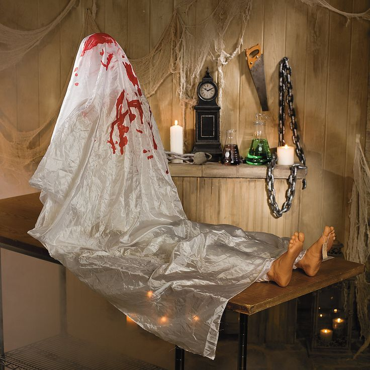 This is one Halloween scene setter you won't want to be without! This John Doe is the perfect Halloween decoration that is sure to turn any home or front yard into a scary haunted house of horrors.