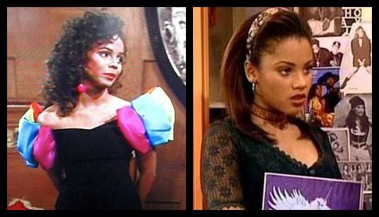 Lisa Turtle (Lark Voorhies) and Megan Jones (Bianca Lawson) from Saved By The Bell and SBTB: The New Class