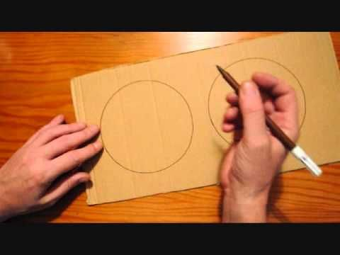 7.1. La base de cartón: cómo hacerla.