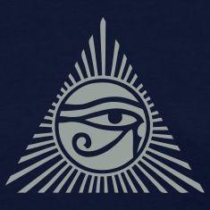 Eye of Ra Womens T-Shirt