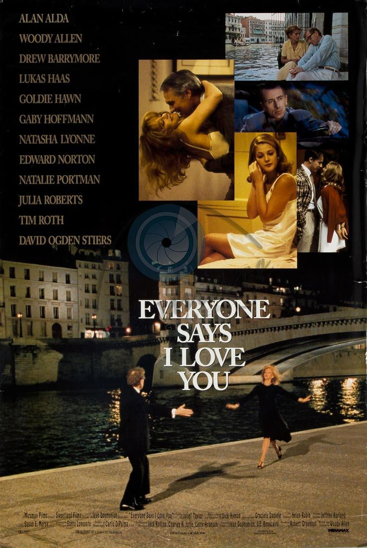 Everyone Says I Love You Really liked this Woody film. Less angst.