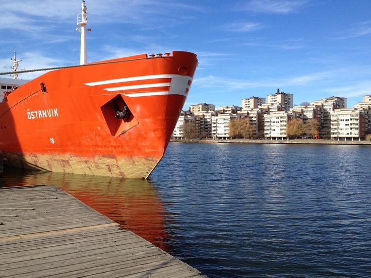 Utsikt mot Reimersholme.